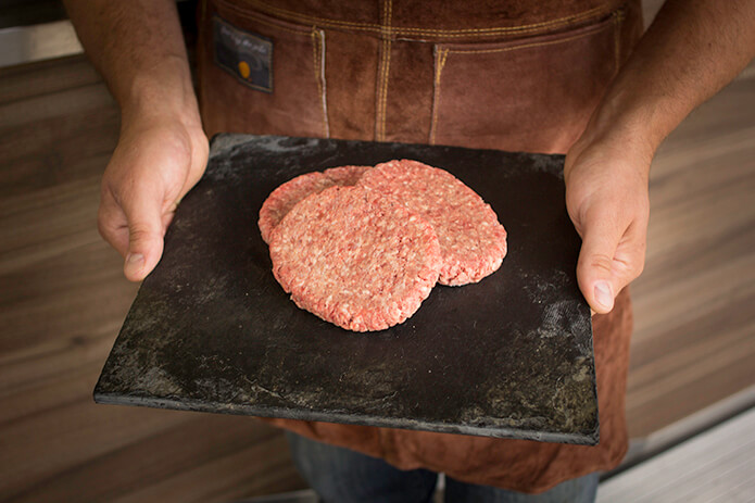 Chopped Sirloin Patties